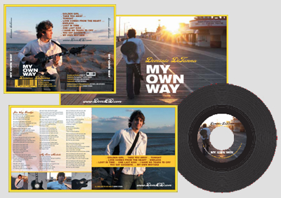 Order Dom's CD - My Own Way!